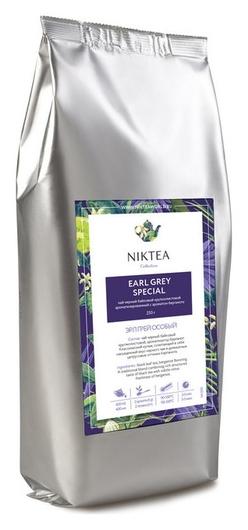 Чай Niktea Earl Grey особый черн.байховый аромат., 250г  Niktea