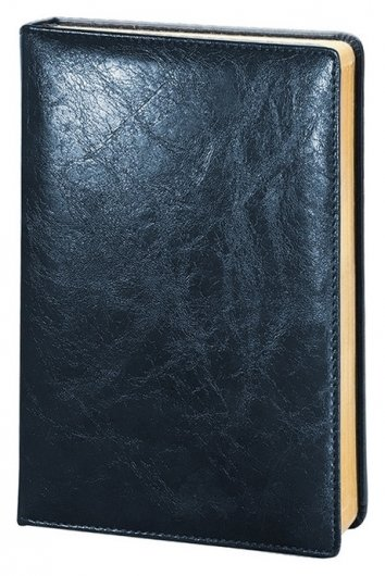 Ежедневник недатированный синий, тв пер А5, 160л, Challenge I504d/blue  InFolio