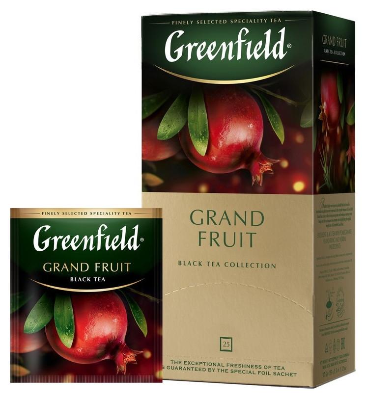 Чай Greenfield Grand Fruit черн., 25пак  Greenfield
