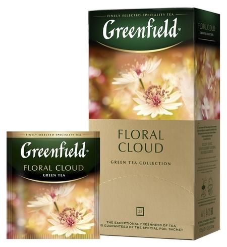 Чай Greenfield Floral Cloud зел, 25пак  Greenfield