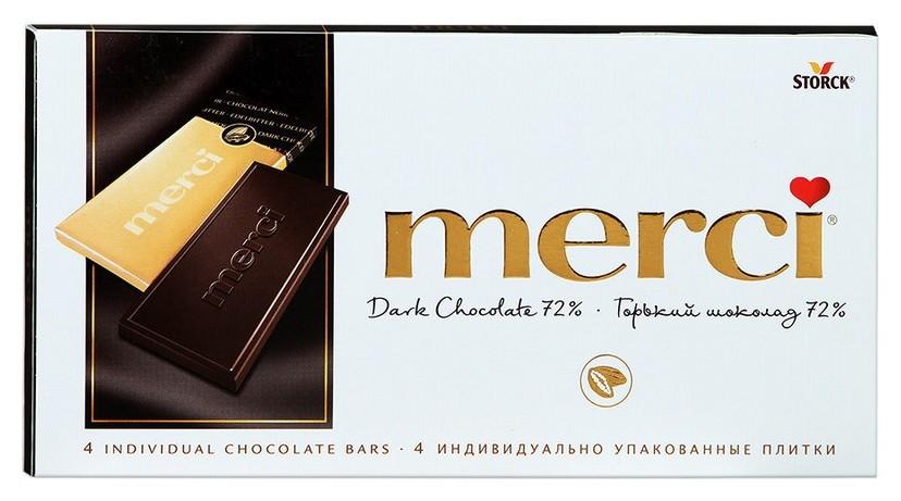 Шоколад Merci горький 100 г  Merci