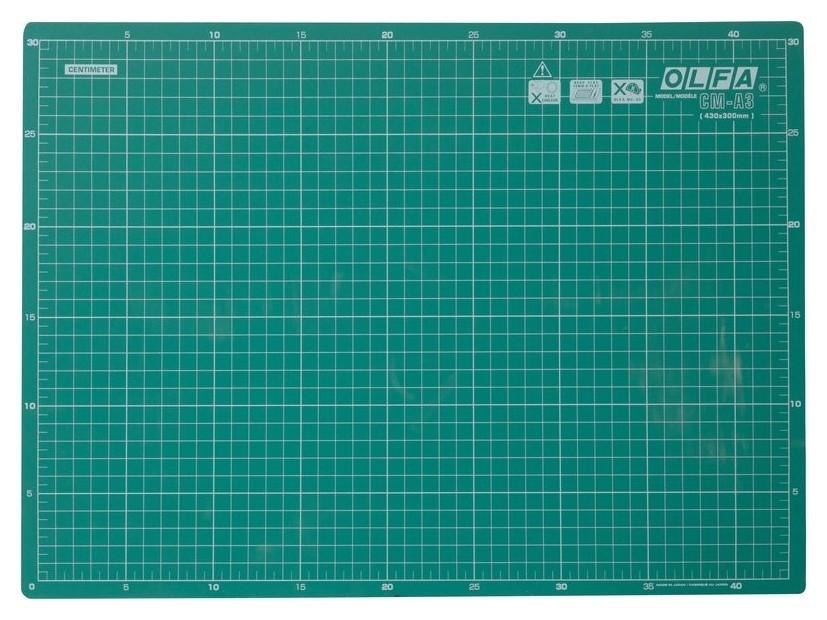 Коврик Olfa защитный, формат A3 (Ol-cm-a3)  OLFA