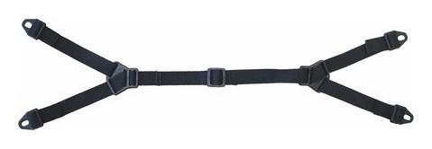 Ремень для каски подбородочный тканевый комплект Everest (00682) 10 шт/уп  Росомз