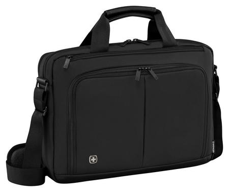 Сумка для документов Wenger, черный, нейлон / пвх, 39x80x25 см, 5л 601064 Wenger