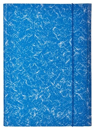 Папка картонные аttache на резинке,синий  Attache