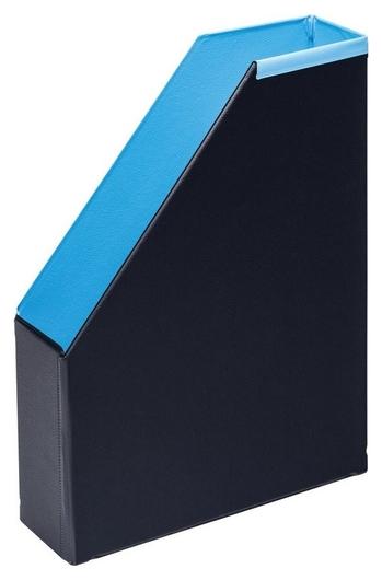 Вертикальный накопитель Bantex 70мм складной модерн голубой  Bantex