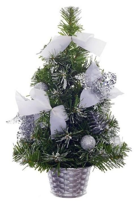 Елка новогодняя изделие декоративное ёлка, L20 W20 H30 см 718287  NNB