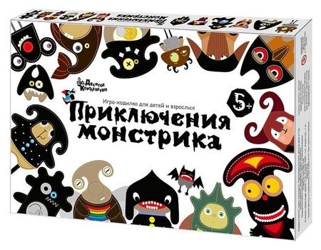 Настольная игра ходилка приключения монстрика арт.02885 Десятое королевство