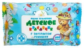 Мыло туалетное 100г детское с экстрактом ромашки меридиан  Меридиан