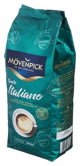 Кофе Movenpick Gusto Italiano в зернах, 1кг  Movenpick