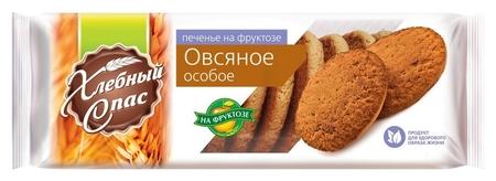 Печенье хлебный спас сдобное особое овсяное на фруктозе 250г  Хлебный спас