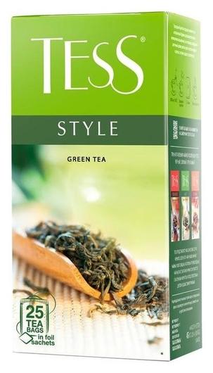 Чай Tess стайл зеленый, 25пак 1179-10  Tess