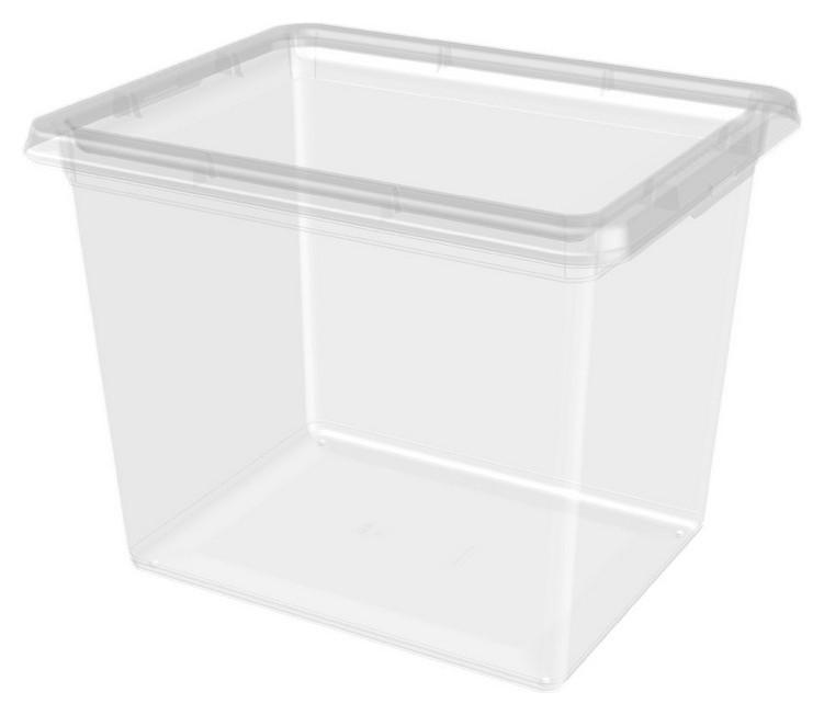 Ящик для хранения Helsinki 31л натуральный 42x34x33 см  Plast team