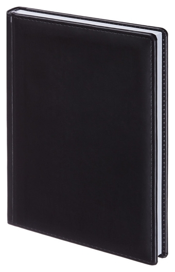 Ежедневник недатированный черный,а5,148х218мм,176л,attache вива Attache