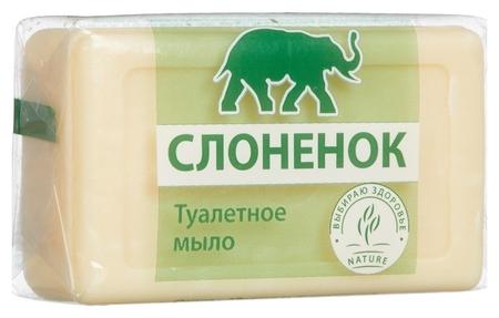 Мыло туалетное ординарное слоненок 90гр.(В упаковке)  Аист