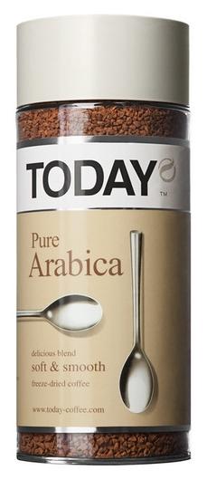 Кофе растворимый Today Pure Arabica 95г  Today