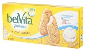 Печенье Belvita утреннее сэндвич злаки и йогурт 253г BelVita