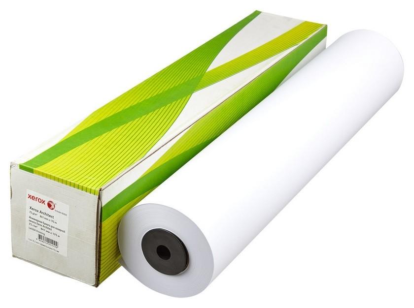 Бумага широкоформатная Xerox Architect 75г 841ммх175м 76мм  Xerox