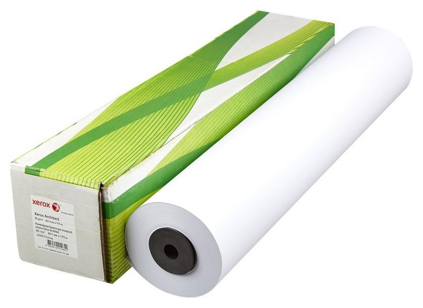 Бумага широкоформатная Xerox Architect 80г 841ммх175м 76мм  Xerox