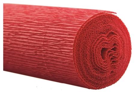 Бумага для творчества крепир.флорист. 50x250см,128г/м2,красная,170510  Werola