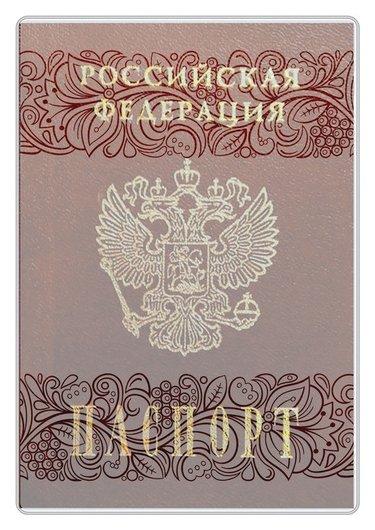 Обложка для паспорта с матовым рисунком, 134x188 мм 2203.180.м  Dps Kanc