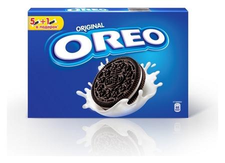 Печенье Oreo с какао, ванильной начинкой, 228г  OREO