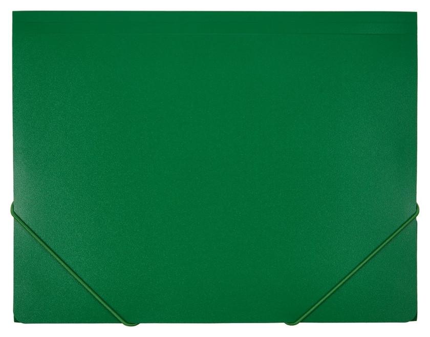 Папка на резинках Attache F315/06 зеленая  Attache