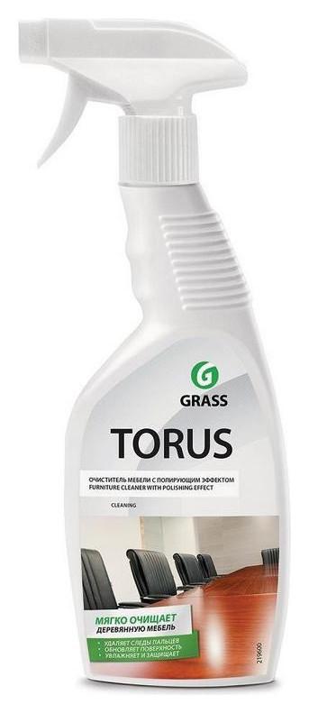 Полироль для мебели Torus 600мл с курком  Grass