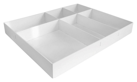 Лоток вложение в бокс или ящик стола, 6 отделений, 40х255х315  Attache
