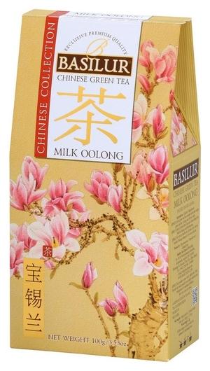 Чай Basilur китайский чай молочный улун 100 г х24 картон 71758-00/71696-00  Basilur