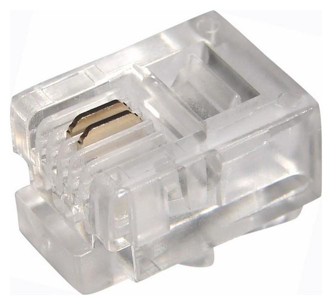 Джек телефонный Proconnect 6p2c 100 шт. (05-1011-3)  Proconnect