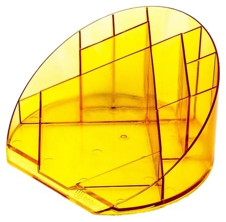 Подставка Attache яркий офис 12 отделений прозрачный манго  Attache