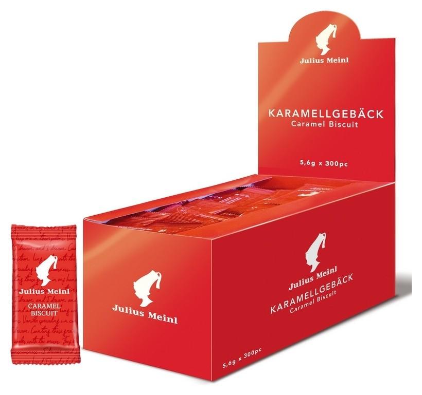 Печенье Julius Meinl бисквитное в индивидульной упаковке, 300шт/уп  Julius Meinl