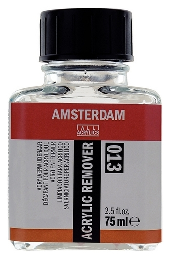 Раствор для очистки кистей от акрила Amsterdam (013) 75мл, 24283013  Royal Talens