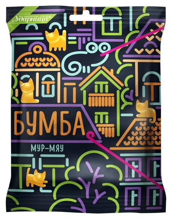 Мармелад бумба мур-мяу ударница, 108г Ударница