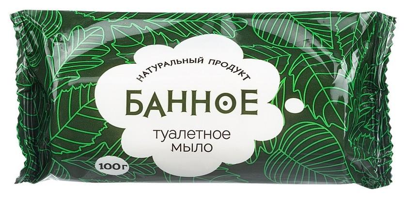 Мыло туалетное твёрдое банное 100 гр. РМЗ  Донагропродукт