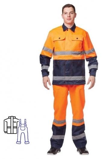 Спец.костюм костюм летний спектр кур/пк.(Р.48-50)р.170-176 NNB
