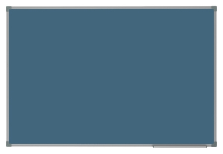Доска магнитно-меловая 1-элементная Attache Selection 90х120, цвет синий  Attache