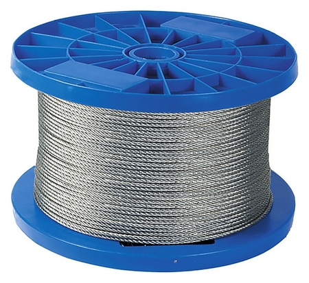 Трос стальной для подвешивания Wire, намотка 50 м.  NNB
