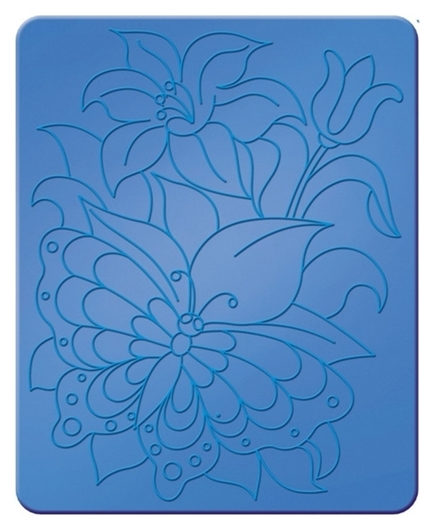 Трафарет рельефный большой бабочки луч, 16С 1115-08  Луч
