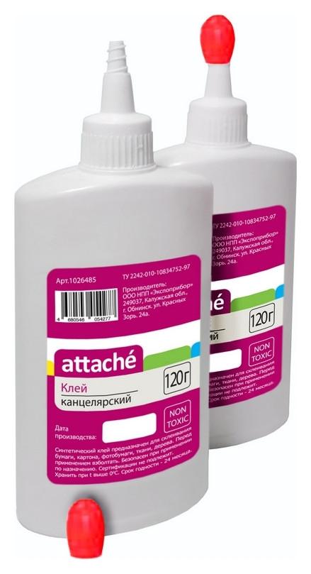 Клей канцелярский синтетический Attache 120 мл  Attache