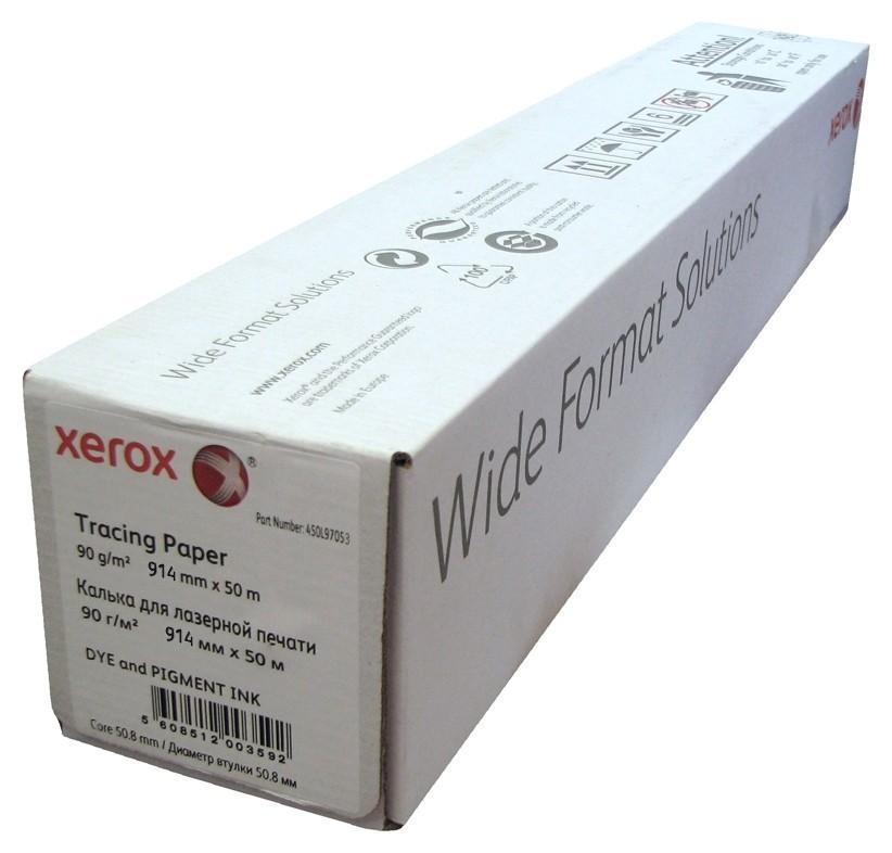 Калька Xerox Inkjet Tracing Paper Roll (914ммх50м, 90 гр.)  Xerox