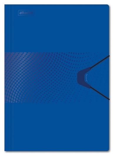 Папка на на резинке Attache Digital, синий  Attache
