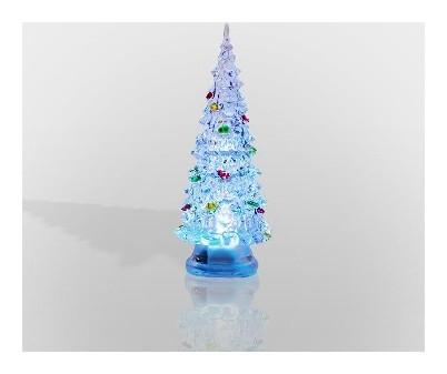 Фигура светодиодная елочка, 15 см, RGB 513-022  Neon-Night