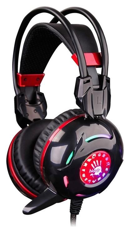 Гарнитура A4 Bloody G300 черный/красный 2.2м мониторы (G300)  A4TECH