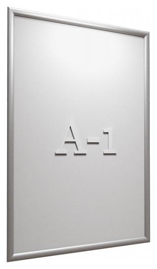Рамка А1 Attache, алюм.клик-профиль 25 мм, настенная  Attache