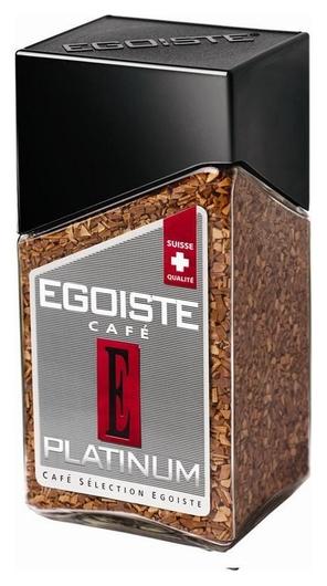 Кофе Egoiste Platinum растворимый,100г стекло  Egoiste