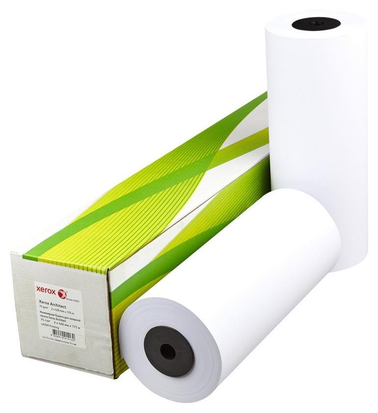 Бумага широкоформатная Xerox Architect 75г 420ммх175м 76мм  Xerox
