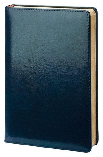 Ежедневник недатированный синий, тв пер 140х200, 160л, Britannia I508/blue  InFolio