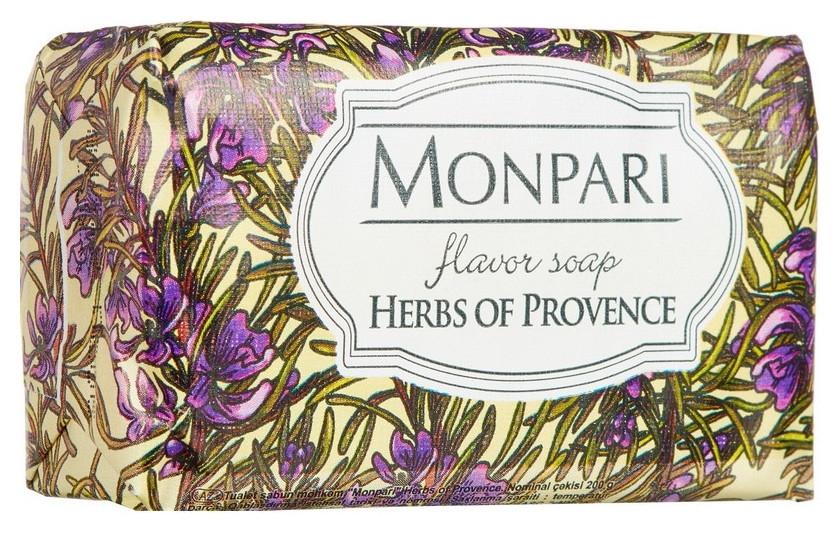 Мыло туалетное Monpari Herbs Of Provence (Травы прованса) 200 гр.  Monpari